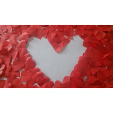 CONFFETI BULK - RED HEARTS (NEW 2014)